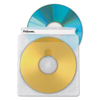 Fellowes Double-sided Cd/dvd Sleeves 50/pk 90659 on sale