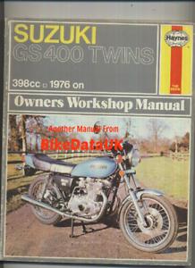 Suzuki-GS400-GS400B-Twins-1976-1978-Haynes-Work-Shop-Manual-GS-400-X-B-C-BN83