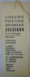 Antique-Brand-Pages-Bookmark-Advertising-Bookstore-Soubiron-in-Toulouse-4