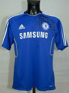 CHELSEA-FOOTBALL-TRAINING-SHIRT-ADIDAS-2011-2012-SIZE-44-46-L-EXCL