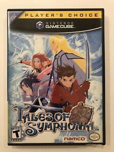 Tales-of-Symphonia-Nintendo-Gamecube-Complete-w-Case-amp-Manual-VG-Condition