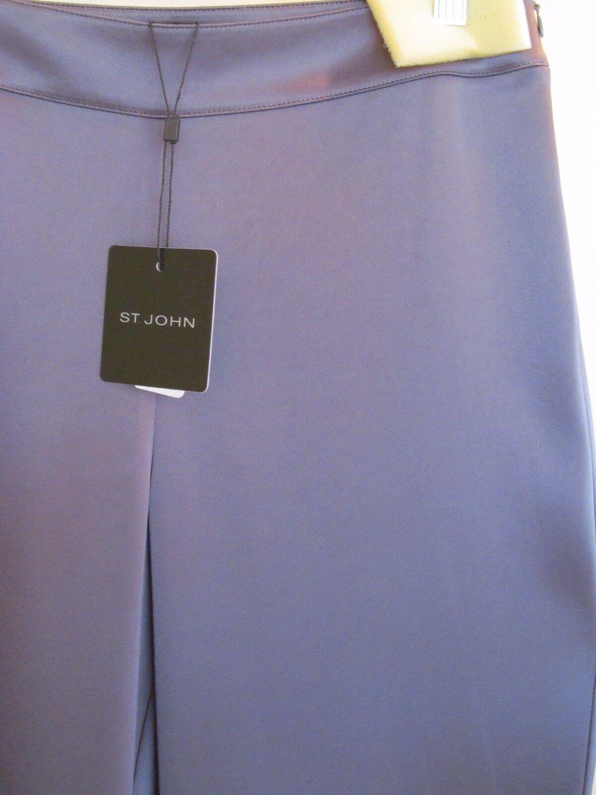 ST. JOHN dressy pants, grey color, NWT, retail  595, size 4