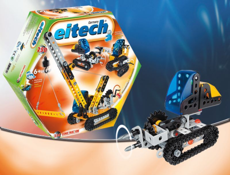 Eitech Beginner 3-Model Crawler Vehicles Vehicles Vehicles Construction Building Set Toy C334 89da0f