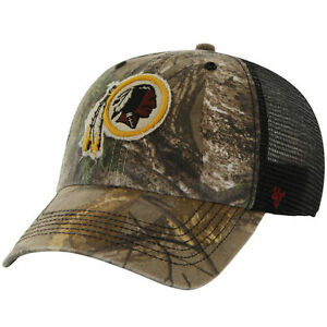 Image is loading Washington-Redskins-039-47-Brand-Realtree-Huntsman-Camo- 457d6d47d