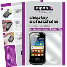 Samsung Galaxy Pocket Plus Schutzfolie klar Displayschutzfolie Folie dipos