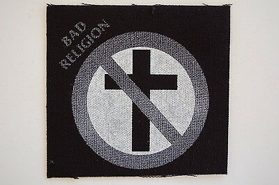 Bad Religion Cloth Patch Punk Rock NOFX Pennywise Ramones (CP51)