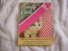 Family Circle Magazine March 1955