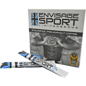 Envisage Sport Endurance All-Natural Pre-Workout Instant Coffee - 14 Servings