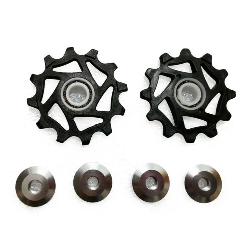 2PCS 12T Ceramic Derailleur Pulley//Jockey For MTB RODE Bicycle SRAM
