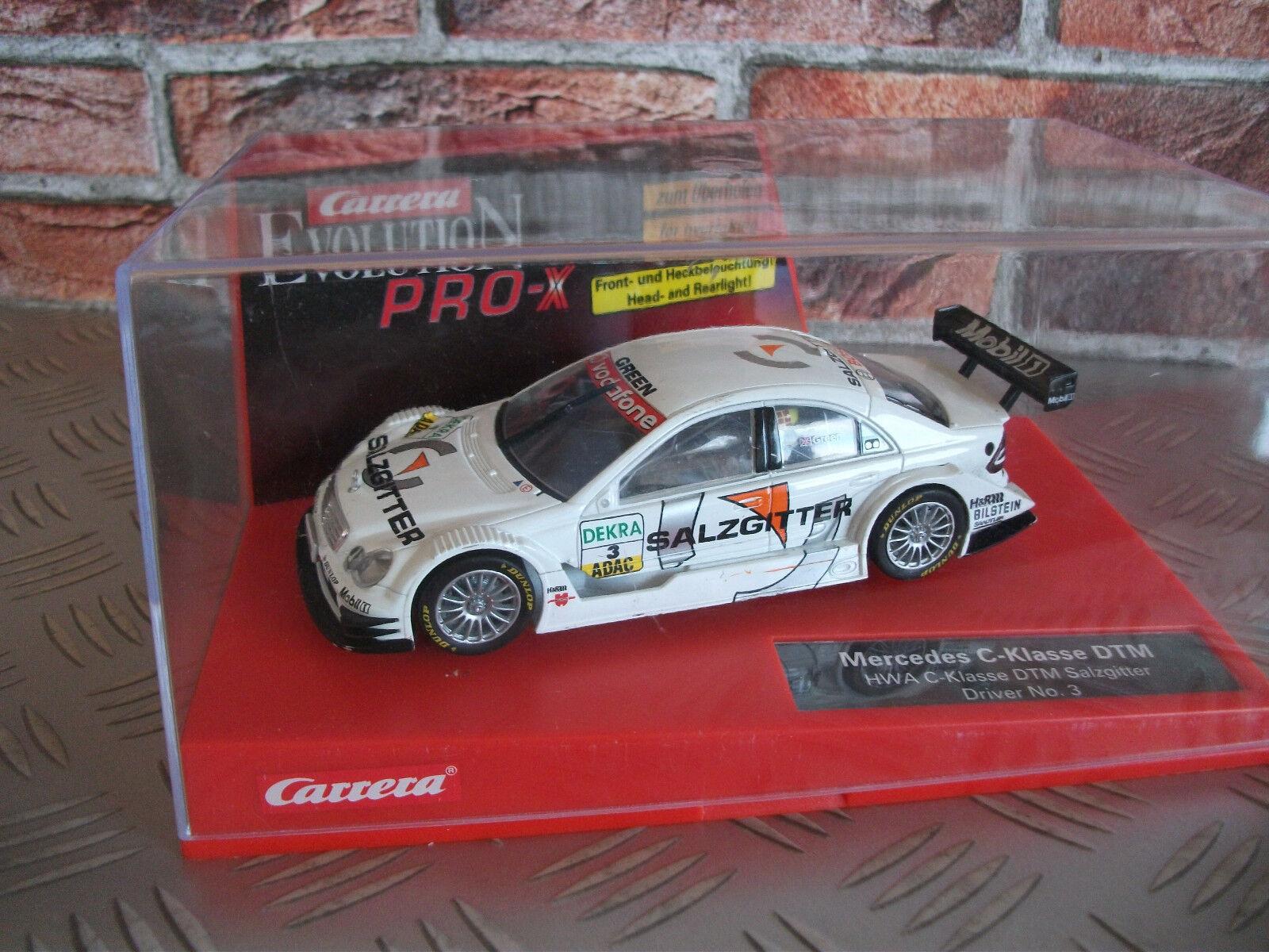 Carrera Evolution PRO-X 30247 1 32 MERCEDES C-KLASSE DTM Rarität