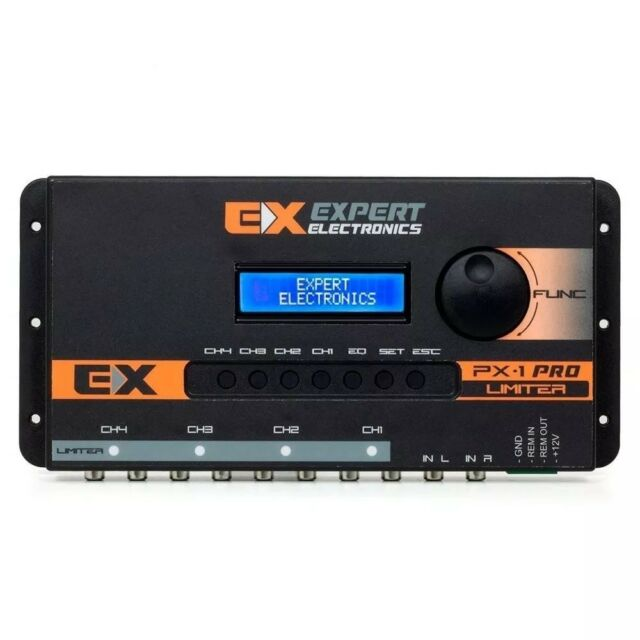 Expert Eletronics PX1 Crossover Digital Audio Processor Equalizer 3 Day  Delivery
