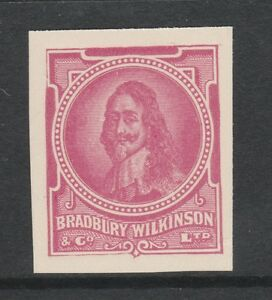 Great Britain 2970 - Bradbury Wilkinson IMPERF ESSAY of Charles I in mauve