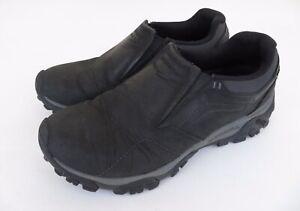Merrell-Men-039-s-Moab-Adventure-Moc-Hiking-Shoes-Black-Size-9-5-US