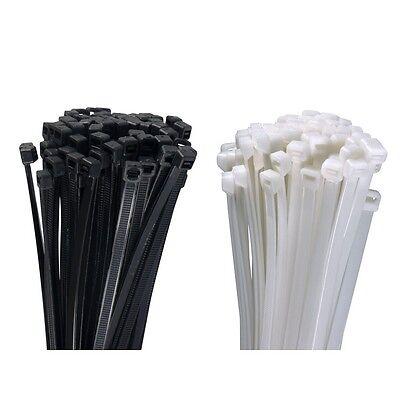 Profi Kabelbinder UV stabil weiß schwarz grün kurz lange lang robuste stabile