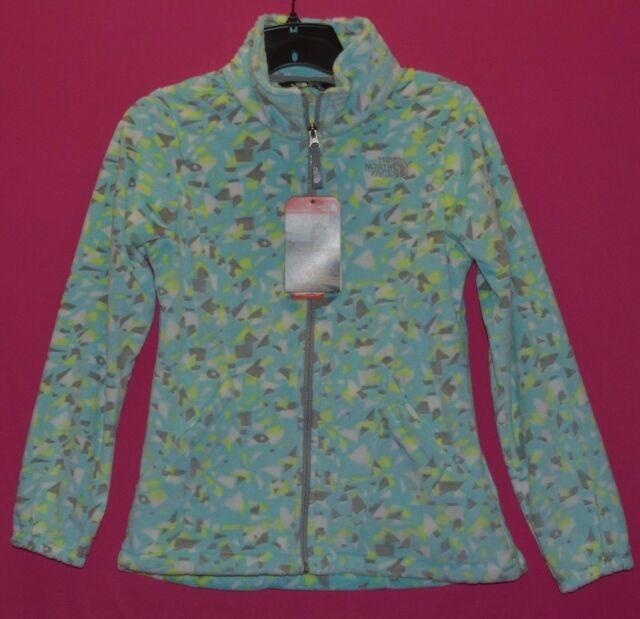 982d5a148 The North Face Girl's Youth Osolita 2 Fleece Jacket M 10 12 Blue