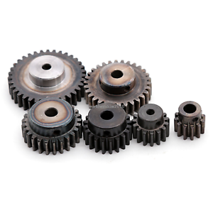 1-5-Mod-12T-35T-45-Steel-Spur-Gear-Common-Bore-5-6-8mm-With-Fixing-Screw-X-1Pcs