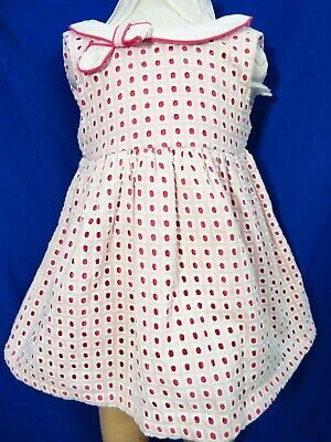 DREAM SALE BABY GIRL NAVY DAISY SPANISH DROP WAIST DRESS