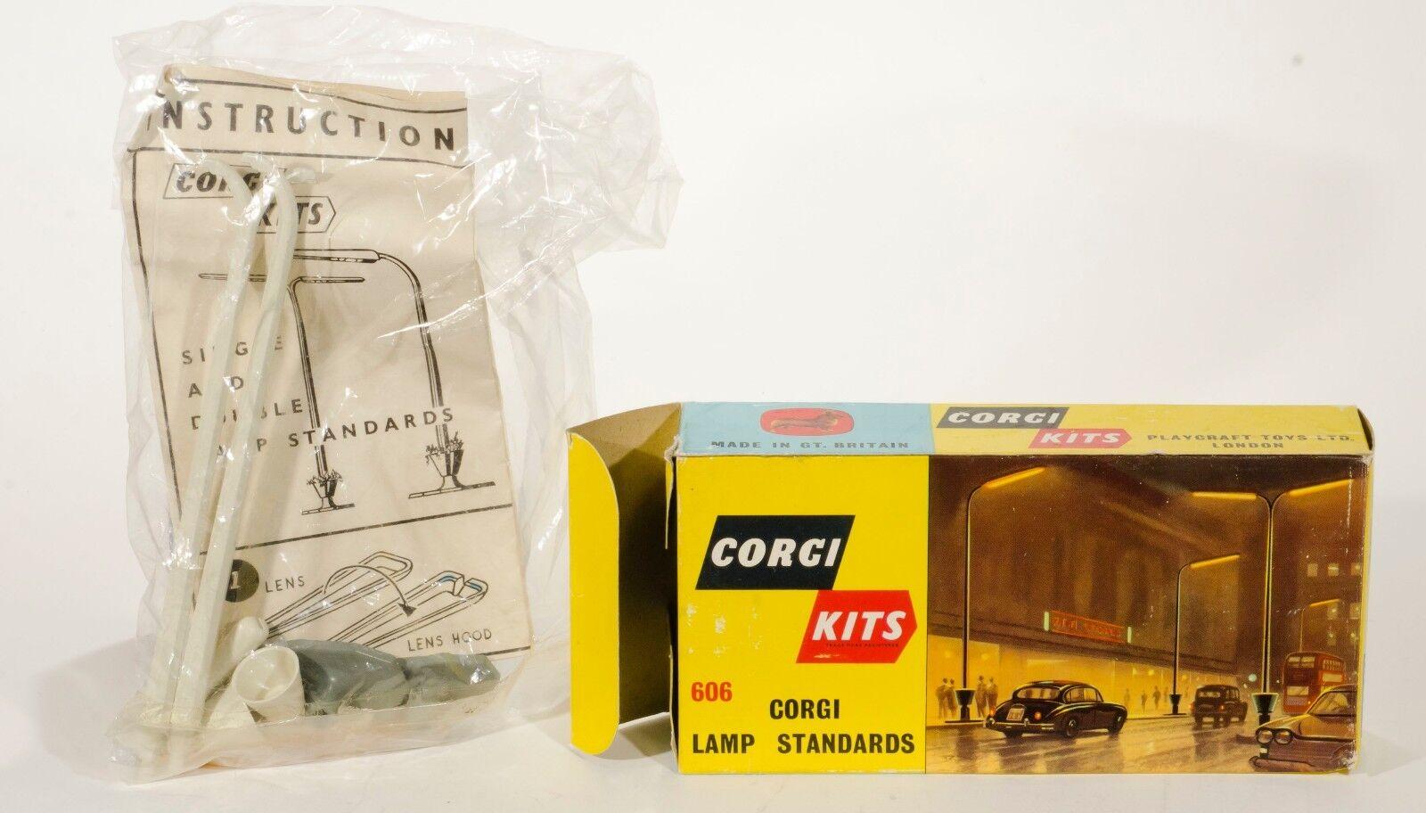 Corgi Kits 606 'Corgi Lamp Standards'. Unmade. Boxed. Original 1960's