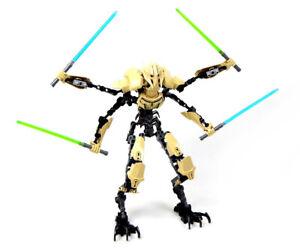 Star Wars Buildable Boneco General Grievous 75112 Totalmente Novo Sem Caixa