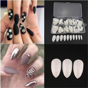Image Is Loading 100 600pcs Artificial French False Nail Art Tips