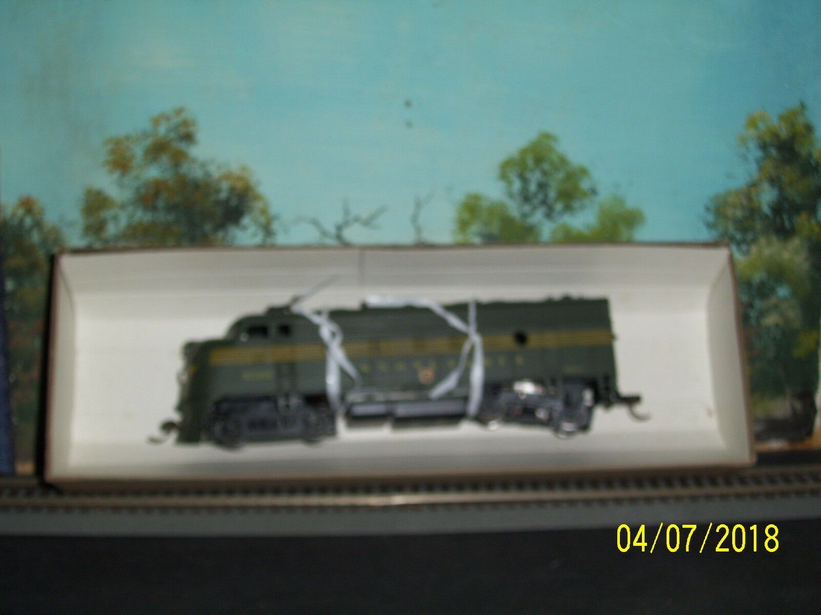 ATHEARN HO SCALE  3207 3007 F7A B A PENNSYLVANIA RAILROAD FREIGHT ENGINES