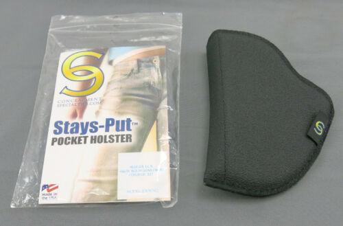 JFRWNQ Fits Most wide J-Frame Revolver Stays-Put Non Slip Pocket Holster