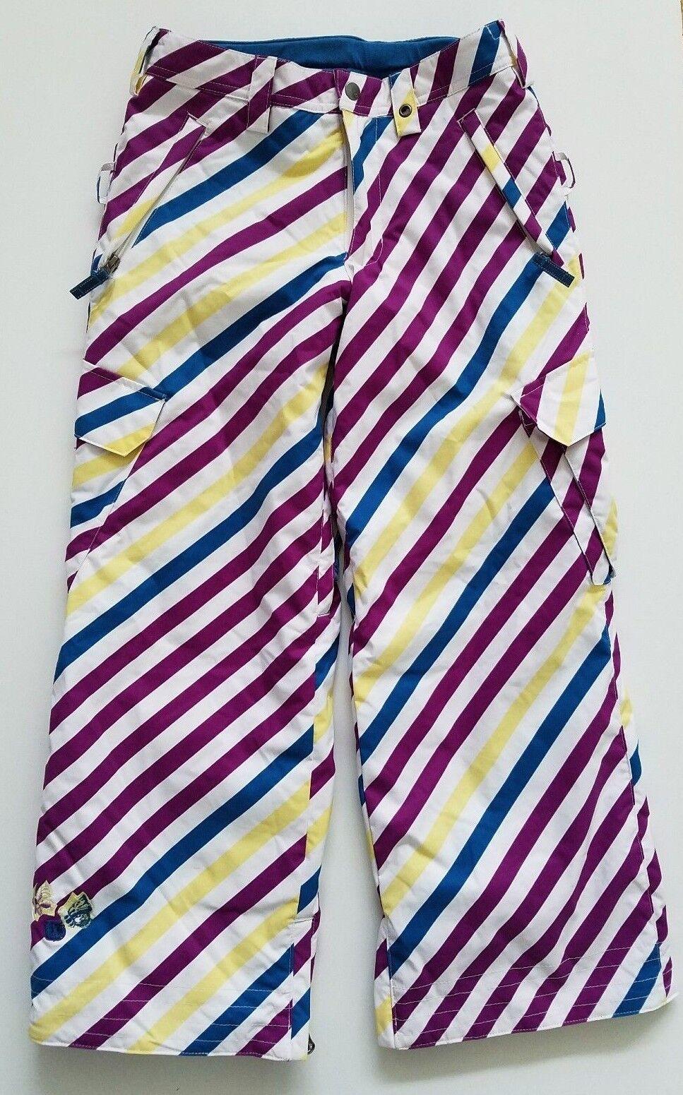 Burton Girls Snowboard Ski Pants Snow New Elite Size L 10-12