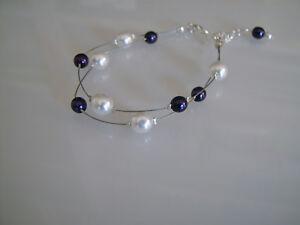 Bracelet Blanc/Ivoire/Violet/Prune robe de Mariée/Mariage/Soirée perles pas cher - France - État : Neuf avec étiquettes: Objet neuf, jamais porté, vendu dans l'emballage d'origine (comme la bote ou la pochette d'origine) et/ou avec étiquettes d'origine. ... Marque: - Sans marque//Générique - Couleur dominante: Blanc violet EAN: No - France