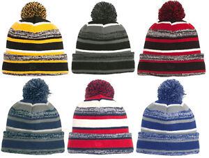 34dc1c55437 New Era Sideline Sport Beanie Knit Men s Stocking Cap Winter Hat ...