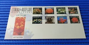1994 Singapore First Day Cover Corals & Reef Life Definitives L.V. Stamp Issue