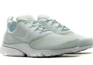 brand new f4d6a 77e44 Details about New Ladies Womens Jr Nike Presto Fly White Mint Green Gym  Trainers UK Size 4