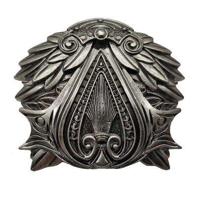 ASSASSIN/'S CREED Brotherhood logo metal BUCKLE Free Belt EZIO gamer wear