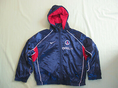 Veste Nike PSG Paris OPEL Toile 90'S Nylon Polyamide Vintage Enfant 10 ans | eBay