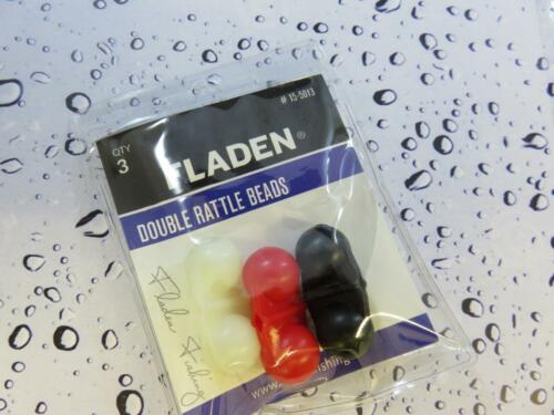 FLADEN TWIN RATTLE ATTRACTOR BEADS FOR SEA BOAT PIER FISHING RIGS