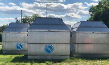Bac 830 Ton 304 Stainless Steel Cooling Tower 2000 Unused Surplus