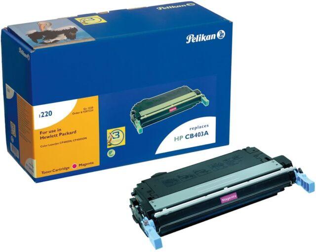 Rebuilt Pelikan für HP CLJ CP 4005 Toner magenta ~7 500S CB403A 4207234