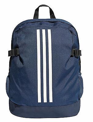 Adidas Power Backpack 3 Stripes Gym Bag Navy Blue School Sports BNWT Boys//Mens