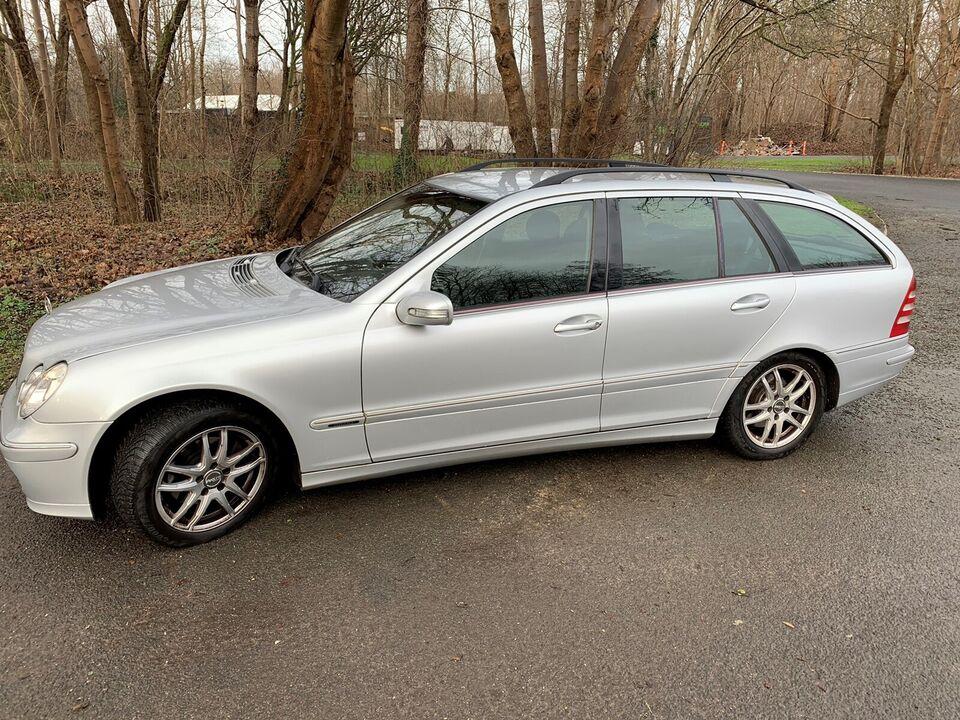 Mercedes C220, 2,2 CDi Elegance stc. aut., Diesel