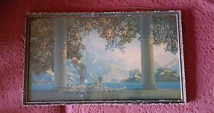 Original-1920s-encadre-Maxwell-Paroisse-Imprime-039-Daybreak-039-45-7cmx26cm