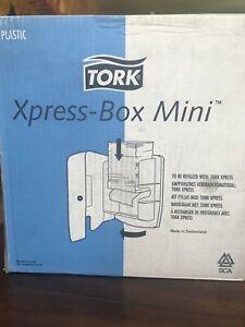 The Tork Xpress U00ae Box Mini Hand Towel Dispenser