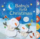 Baby's First Christmas by Fiona Watt (CD-Audio, 2007)