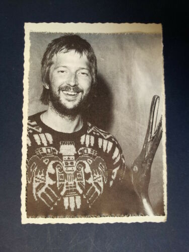 .ae handmade greeting card with ERIC CLAPTON