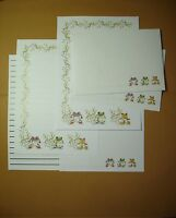 Frogs letter writing stationery paper set with envelopes