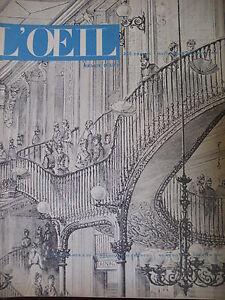 Magazine-Art-L-039-Oeil-No-26-of-1957-Shop-Shopper-Center-Baroque-Manuelin-Chadwick