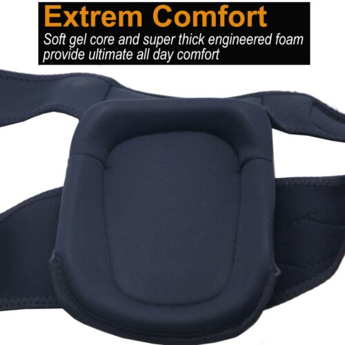 Knee Pads Gel Cushion Anti-Slip Straps for Work Flooring Construction Workers