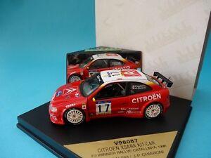 CITROEN-XSARA-KIT-CAR-17-BUGALSKI-RALLY-CATALUNYA-1998-1-43-NEW-VITESSE-V98087