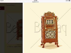 DOLLHOUSE MINIATURE - Grand Casino Slot Machine - BESPAQ 1:12 Scale WOW!