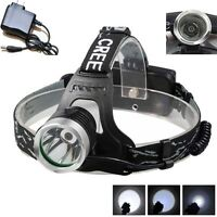 Rechargeable Camping Hunting High-power Cree 6000-lm Headlight With Charger