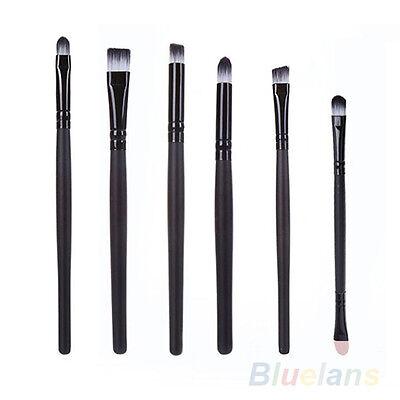 6PCS Good Classic Make Up Cosmetics Brushes Eyeshadow Eyeliner Nose Tool Set Kit