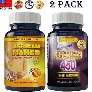 African Mango Fat Burn Caps Thermogenic Weight Loss Pills Combo Pk